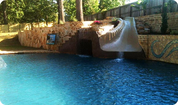Custom Pool Design in East Texas